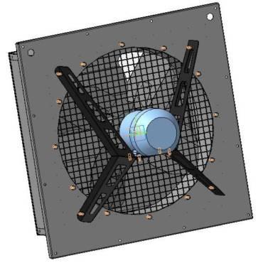 Вентиляторы осевые для животноводческих и птицеводческих помещений типа ВКО-П