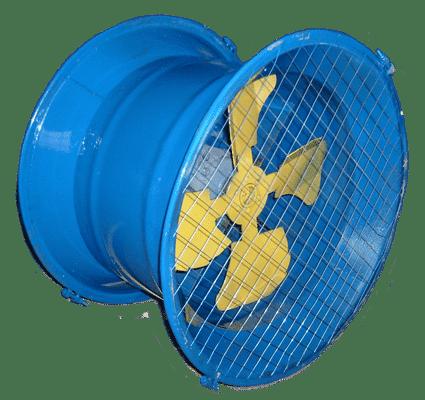 Осевые вентиляторы струйные типа ВС 10-400